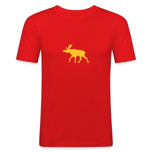Poro - Miesten tyköistuva t-paita