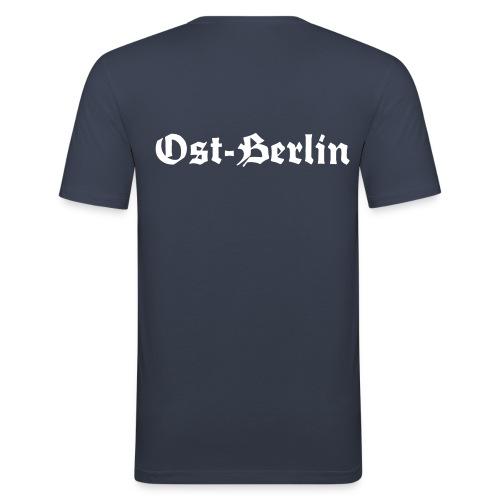 Lichentenberg-Ostberlin - Männer Slim Fit T-Shirt