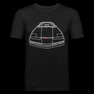T-shirts ~ slim fit T-shirt ~ Kitt Knightrider