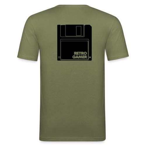 3 pouces et demi ... - T-shirt près du corps Homme