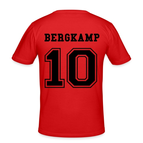 On the 8th day he created Bergkamp! (O) - Men's Slim Fit T-Shirt