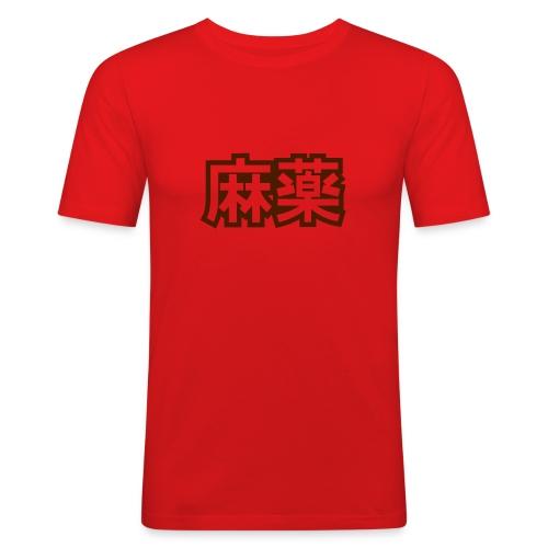 Drugs - Miesten tyköistuva t-paita