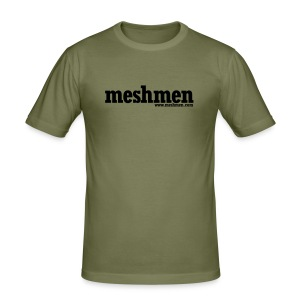 STANDARD MESHMEN OLIVE - Men's Slim Fit T-Shirt