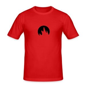Flame - Men's Slim Fit T-Shirt