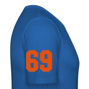 69 - Unisex - Slim Fit T-skjorte for menn