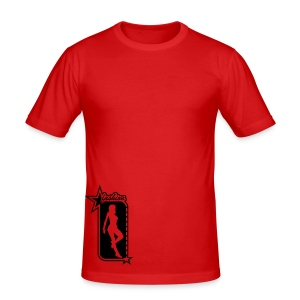 THROUGH THE KEYHOLE - Men's Slim Fit T-Shirt