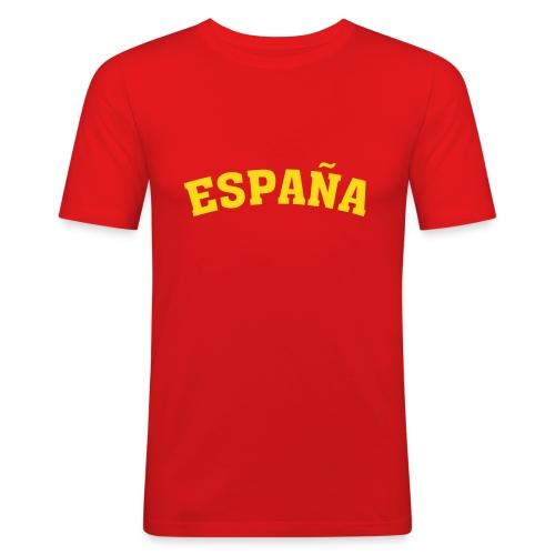 Maglietta Spagna - Maglietta aderente da uomo