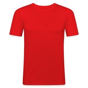 Slim Fit T-skjorte for menn - Regular t-shirt