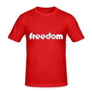 Freedom - Men's Slim Fit T-Shirt