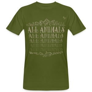 All Animals - BIO - T-shirt bio Homme