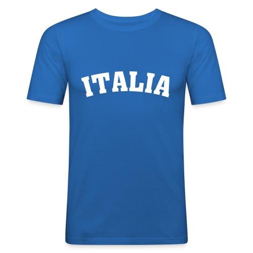 italia - Miesten tyköistuva t-paita