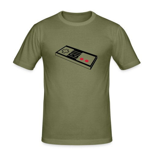 Gamepad - Männer Slim Fit T-Shirt