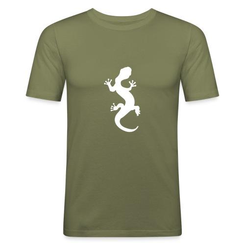 lizard... - T-shirt près du corps Homme