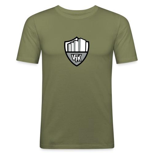 Flocktryck! - Slim Fit T-shirt herr