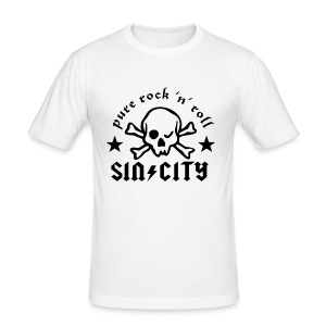 SC Skull Shirt - Männer Slim Fit T-Shirt