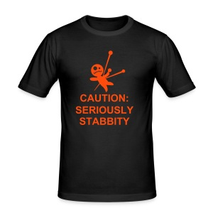 Seriously Stabbity - Men's Slim Fit T-Shirt