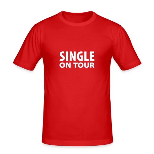Single on tour - Men's Slim Fit T-Shirt