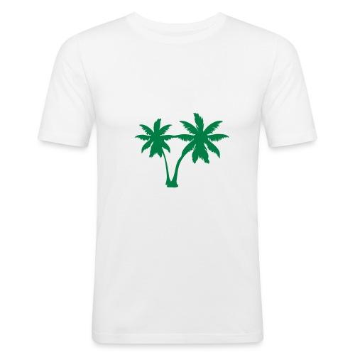 Summer! - Miesten tyköistuva t-paita