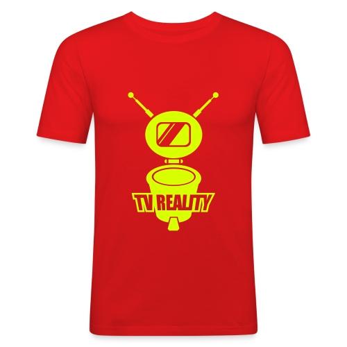 télé réalité - T-shirt près du corps Homme