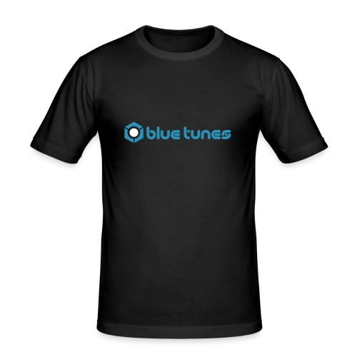 Blue Tunes Shirt - Men's Slim Fit T-Shirt
