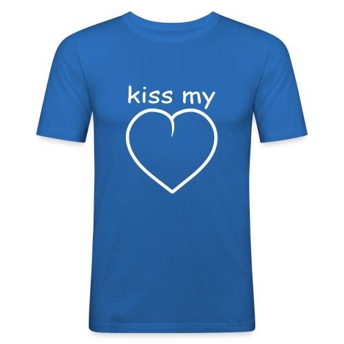 Kiss my .... - slim fit T-shirt
