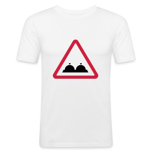 Pas op! - slim fit T-shirt