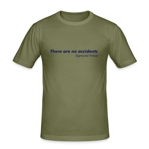 No Accidents - Men's Slim Fit T-Shirt