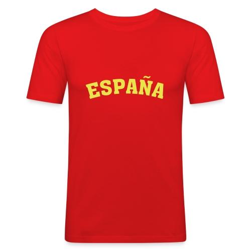 SPAIN 01 - Maglietta aderente da uomo
