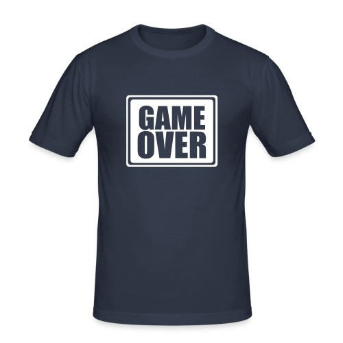 game over t-shirt - Herre Slim Fit T-Shirt