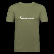 T-Shirts ~ Männer Slim Fit T-Shirt ~ Brown v. Board of Education