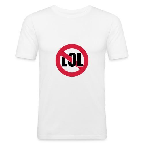 Anti lol - Men's Slim Fit T-Shirt