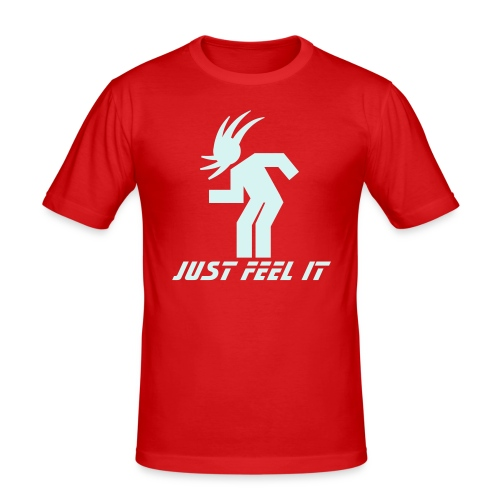 Just Feel It (Power-reflex) - T-shirt près du corps Homme