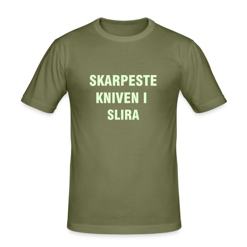 Slim Fit T-skjorte for menn - Akademikeren