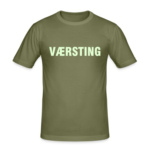 Værsting - Slim Fit T-skjorte for menn