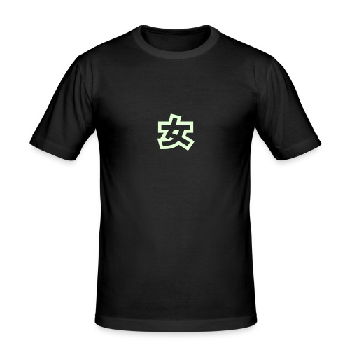 Mens Oriental Tee - Men's Slim Fit T-Shirt
