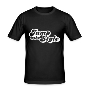 slim fit T-shirt - heren shirt jumpisthestyle