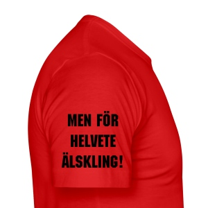 Elskling - Slim Fit T-skjorte for menn