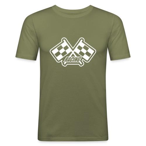 Racing - Männer Slim Fit T-Shirt