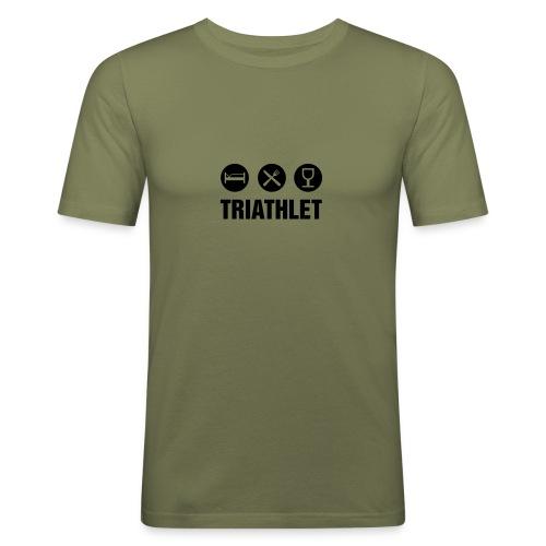 Triathlet - Männer Slim Fit T-Shirt