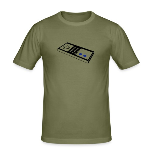 RETRO-CONTROLL - Men's Slim Fit T-Shirt