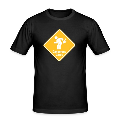 DANGEROUS-GASES - Men's Slim Fit T-Shirt