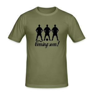 Coming soon - Tee shirt près du corps Homme