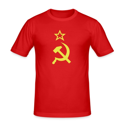 Red - Men's Slim Fit T-Shirt