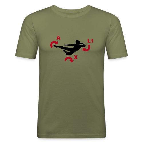 Kung FOO - Men's Slim Fit T-Shirt