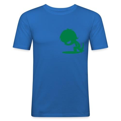 Blue Surf Nut - Camiseta ajustada hombre