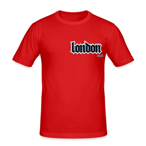 T3A London Slim Fit - Men's Slim Fit T-Shirt