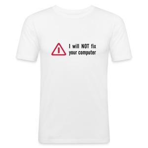 Comuter fixer - Slim Fit T-skjorte for menn