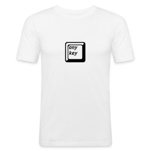 Any Key - Slim Fit T-skjorte for menn