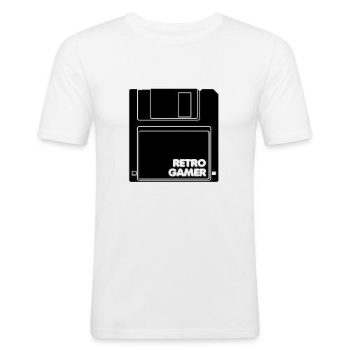 Retro gamer - Slim Fit T-skjorte for menn