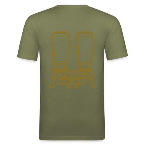 Africasound - T-shirt près du corps Homme